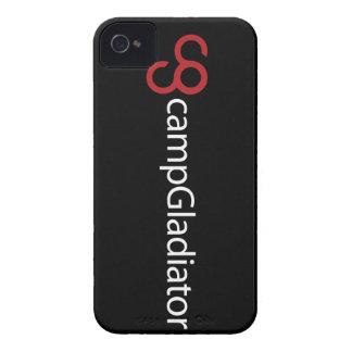 Caso del iPhone 4 4S del gladiador del campo iPhone 4 Cárcasas