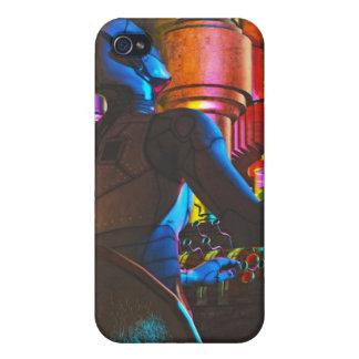 Caso del iPhone 4 4S del jugador de Babbage por J iPhone 4 Protectores