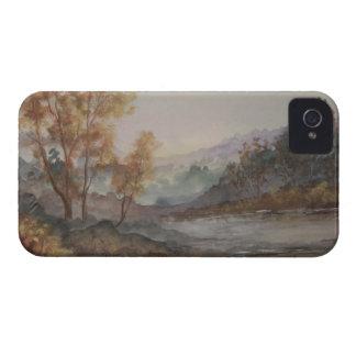 Caso del iPhone 4/4S del lago autumn Funda Para iPhone 4