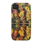 caso del iPhone 4/4S del lago del caleidoscopio de Vibe iPhone 4 Carcasas