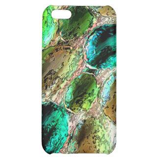 Caso del iPhone 4/4s del mosaico de la chuchería