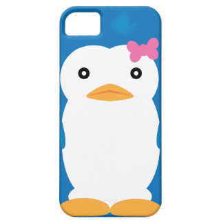 Caso del iPhone 4-4S del n° 3 del pingüino de iPhone 5 Carcasas