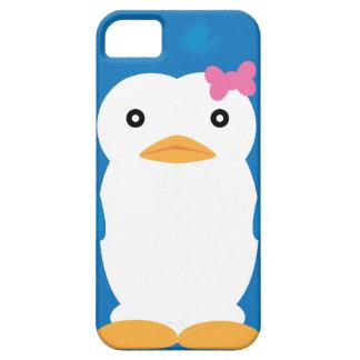 Caso del iPhone 4-4S del n° 3 del pingüino de Mawa iPhone 5 Cárcasa