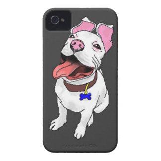 Caso del iPhone 4/4S del perrito del pitbull iPhone 4 Funda