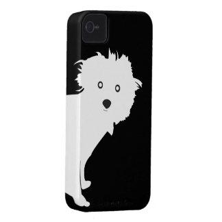 Caso del iPhone 4 4S del PERRITO en 1201 Case-Mate iPhone 4 Carcasa