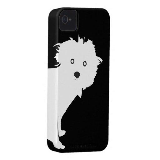 Caso del iPhone 4/4S del PERRITO en 1201 Case-Mate iPhone 4 Carcasa