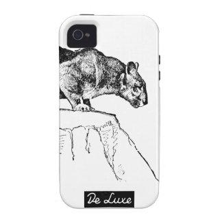 """Caso del iPhone 4/4s del """"puma"""" de De Luxe Designs Vibe iPhone 4 Carcasas"""