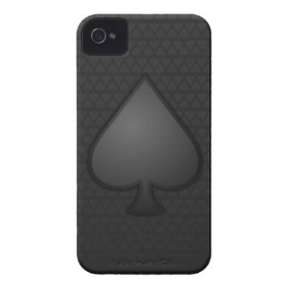 Caso del iPhone 4/4s del símbolo de las espadas Case-Mate iPhone 4 Carcasa