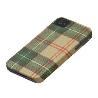 Caso del iPhone 4/4s del tartán de Saskatchewan Carcasa Para iPhone 4 De Case-Mate