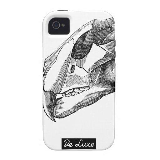 """Caso del iPhone 4/4s del """"tigre"""" de De Luxe iPhone 4/4S Carcasas"""