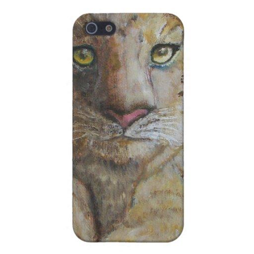 caso del iPhone 4/4S - el tigre Cub diseña iPhone 5 Fundas