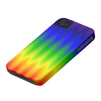 caso del iPhone 4/4S - onda del arco iris Case-Mate iPhone 4 Coberturas