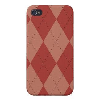 caso del iPhone 4 - Argyle - fresa iPhone 4 Cobertura
