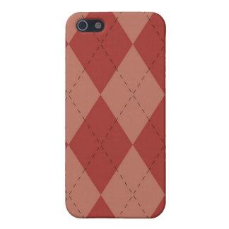caso del iPhone 4 - Argyle - fresa iPhone 5 Carcasas