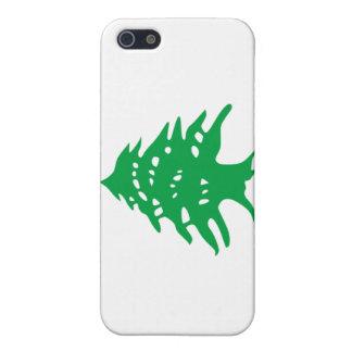 caso del iPhone 4 - bandera de Líbano iPhone 5 Protector