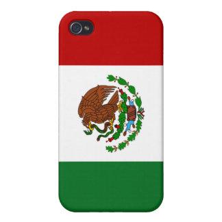 caso del iPhone 4 - bandera de México iPhone 4/4S Carcasa