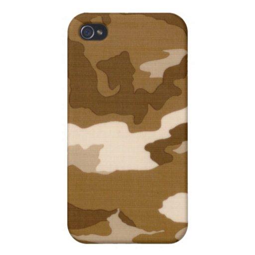 caso del iPhone 4 - camuflaje - otoño iPhone 4/4S Carcasa