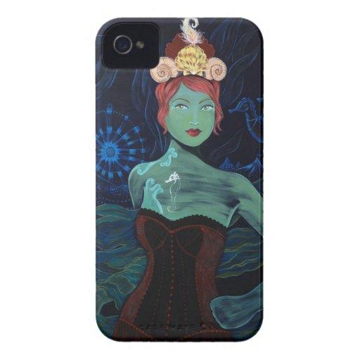 caso del iPhone 4 - chica del circo del Seahorse iPhone 4 Carcasa