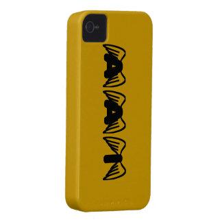 Caso del iPhone 4 de AAI iPhone 4 Case-Mate Cobertura