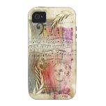 """Caso del iPhone 4 de """"Beethoven"""" de las ilustracio Case-Mate iPhone 4 Funda"""