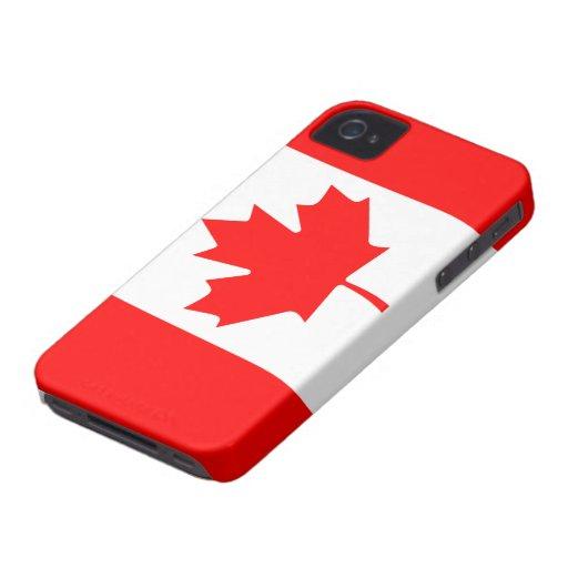 Caso del iPhone 4 de Canadá iPhone 4 Fundas
