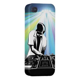 Caso del iPhone 4 de DJ iPhone 4 Cobertura
