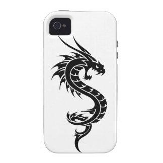 Caso del iphone 4 de Dragonsnake iPhone 4 Carcasas
