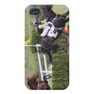 Caso del iPhone 4 de Eventing de los caballos iPhone 4 Funda