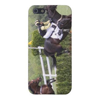 Caso del iPhone 4 de Eventing de los caballos iPhone 5 Funda