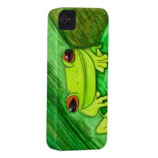 Caso del iPhone 4 de Froggie iPhone 4 Case-Mate Cobertura