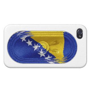 Caso del iPhone 4 de FX del altavoz de Bosnia y He iPhone 4 Carcasas