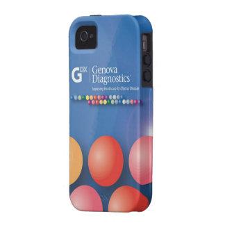 Caso del iPhone 4 de Génova - esferas calientes Case-Mate iPhone 4 Funda