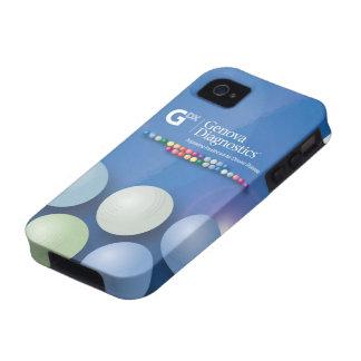 Caso del iPhone 4 de Génova - esferas frescas iPhone 4/4S Carcasa