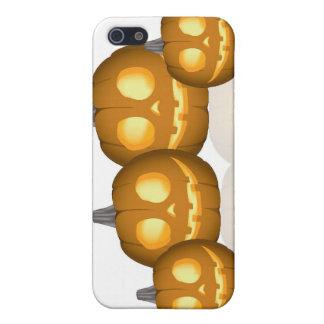 Caso del iPhone 4 de Halloween Pumkins iPhone 5 Protector
