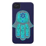 Caso del iphone 4 de Hamsa apenas iPhone 4 Protectores
