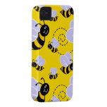 Caso del iPhone 4 de la abeja Carcasa Para iPhone 4 De Case-Mate