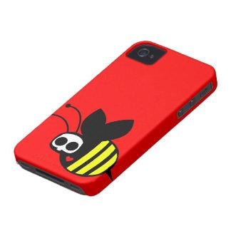Caso del iPhone 4 de la abeja del fantasma iPhone 4 Cárcasas