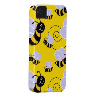 Caso del iPhone 4 de la abeja