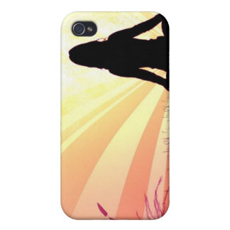 Caso del iPhone 4 de la actitud de la yoga iPhone 4 Protector