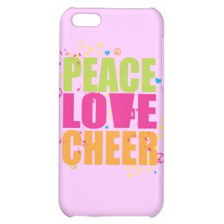 Caso del iPhone 4 de la alegría del amor de la paz