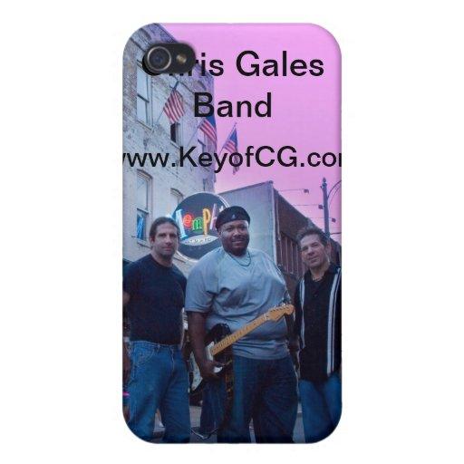 Caso del iPhone 4 de la banda de los vendavales de iPhone 4/4S Carcasas