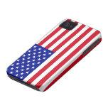 Caso del iPhone 4 de la bandera americana
