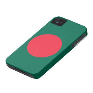 Caso del iphone 4 de la bandera de Bangladesh iPhone 4 Case-Mate Cobertura
