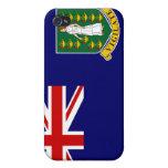 Caso del iPhone 4 de la bandera de British Virgin  iPhone 4 Fundas