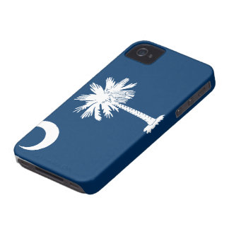 Caso del iPhone 4 de la bandera de Carolina del iPhone 4 Case-Mate Fundas