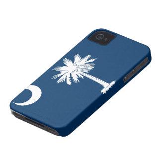 Caso del iPhone 4 de la bandera de Carolina del Su iPhone 4 Carcasa