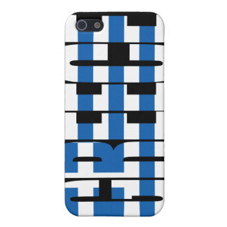 Caso del iPhone 4 de la bandera de Grecia iPhone 5 Cárcasas