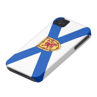 Caso del iPhone 4 de la bandera de Nueva Escocia iPhone 4 Cárcasas
