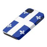 Caso del iPhone 4 de la bandera de Quebec Case-Mate iPhone 4 Cárcasa
