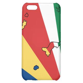 Caso del iPhone 4 de la bandera de Seychelles